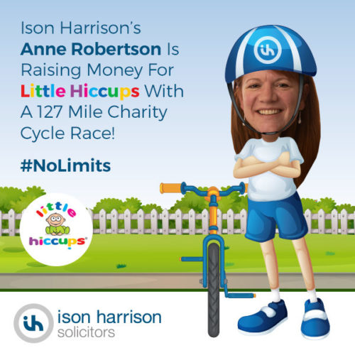 The Ison Harrison 127-Mile Cycle Race Challenge